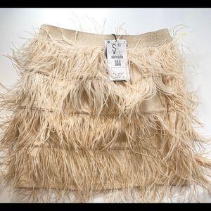 Feather skirt - never been worn